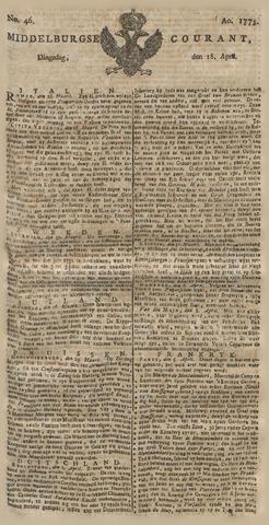 Middelburgsche Courant 1775-04-18