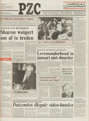 Provinciale Zeeuwse Courant 1983-02-09