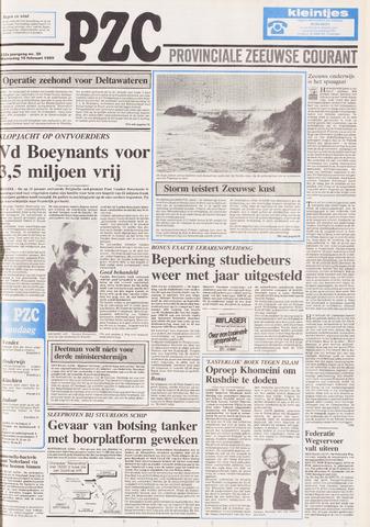 Provinciale Zeeuwse Courant 1989-02-15