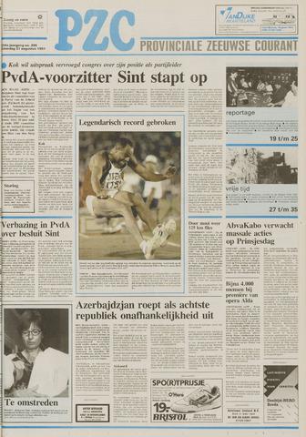 Provinciale Zeeuwse Courant 1991-08-31
