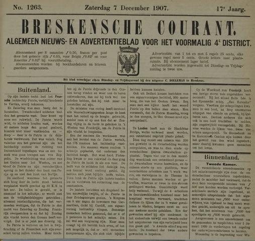 Breskensche Courant 1907-12-07