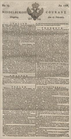 Middelburgsche Courant 1768-02-16
