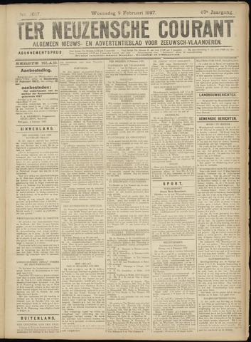 Ter Neuzensche Courant. Algemeen Nieuws- en Advertentieblad voor Zeeuwsch-Vlaanderen / Neuzensche Courant ... (idem) / (Algemeen) nieuws en advertentieblad voor Zeeuwsch-Vlaanderen 1927-02-09