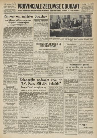 Provinciale Zeeuwse Courant 1950-04-04
