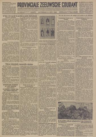 Provinciale Zeeuwse Courant 1942-11-21