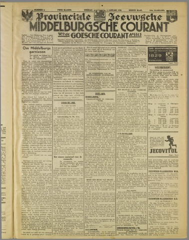 Middelburgsche Courant 1938-01-04