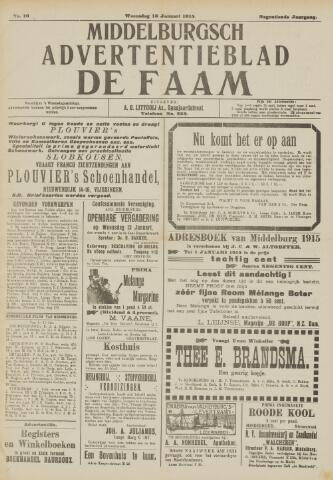 de Faam en de Faam/de Vlissinger 1915-01-13