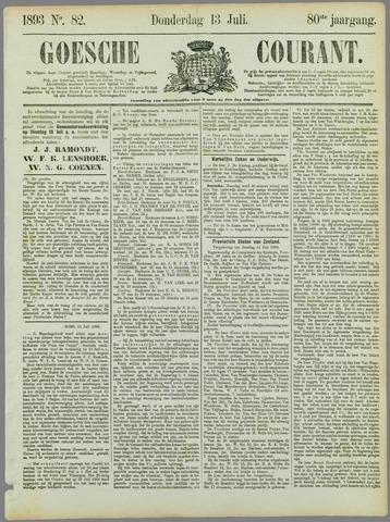 Goessche Courant 1893-07-13