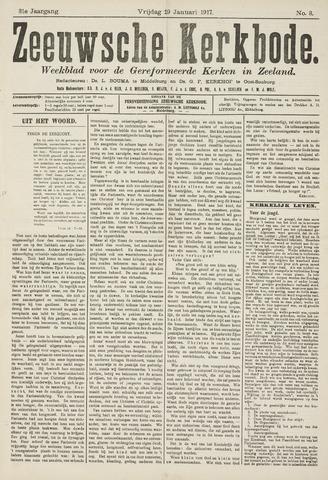 Zeeuwsche kerkbode, weekblad gewijd aan de belangen der gereformeerde kerken/ Zeeuwsch kerkblad 1917-01-19