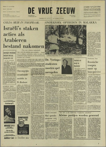 de Vrije Zeeuw 1970-02-05