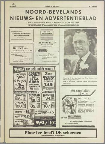Noord-Bevelands Nieuws- en advertentieblad 1964-06-27