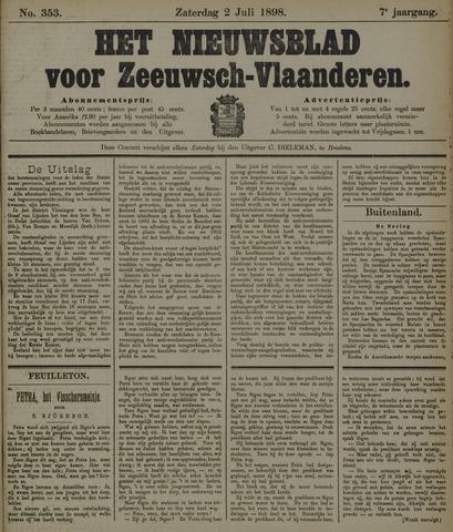 Nieuwsblad voor Zeeuwsch-Vlaanderen 1898-07-02