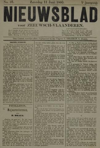 Nieuwsblad voor Zeeuwsch-Vlaanderen 1892-06-11