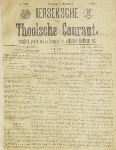 Ierseksche en Thoolsche Courant 1889-12-07