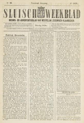 Sluisch Weekblad. Nieuws- en advertentieblad voor Westelijk Zeeuwsch-Vlaanderen 1873-12-09