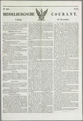 Middelburgsche Courant 1871-11-10