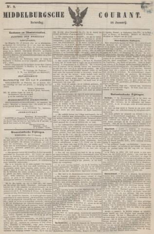 Middelburgsche Courant 1851-01-18