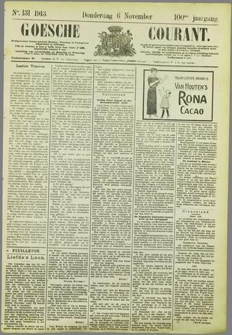 Goessche Courant 1913-11-06