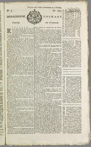 Zierikzeesche Courant 1814-01-18