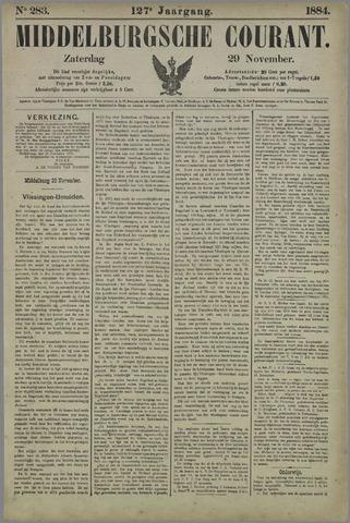 Middelburgsche Courant 1884-11-29