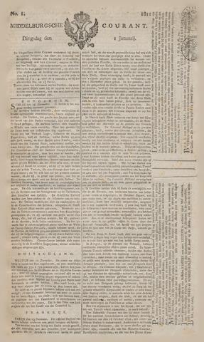 Middelburgsche Courant 1811