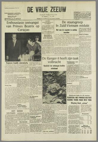 de Vrije Zeeuw 1965-02-22