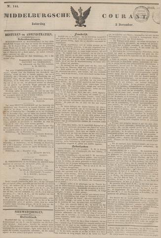 Middelburgsche Courant 1843-12-02