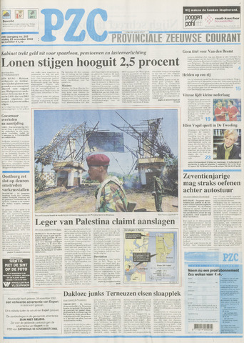 Provinciale Zeeuwse Courant 2002-11-29