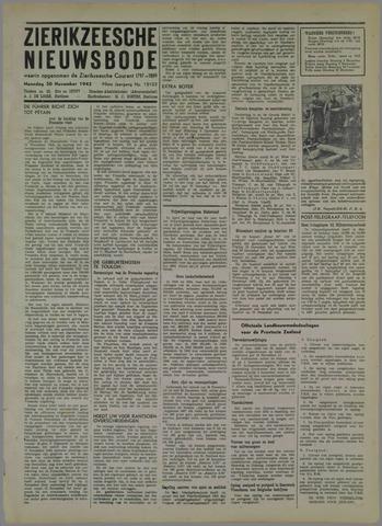 Zierikzeesche Nieuwsbode 1942-11-30