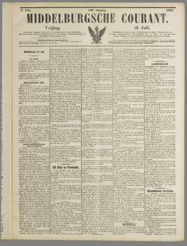 Middelburgsche Courant 1905-07-21