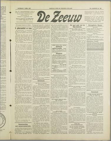 De Zeeuw. Christelijk-historisch nieuwsblad voor Zeeland 1937-04-17