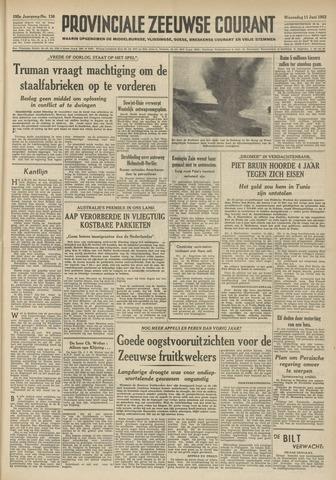 Provinciale Zeeuwse Courant 1952-06-11