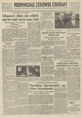 Provinciale Zeeuwse Courant 1953-04-14
