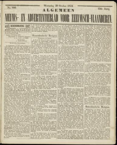 Ter Neuzensche Courant. Algemeen Nieuws- en Advertentieblad voor Zeeuwsch-Vlaanderen / Neuzensche Courant ... (idem) / (Algemeen) nieuws en advertentieblad voor Zeeuwsch-Vlaanderen 1873-10-29