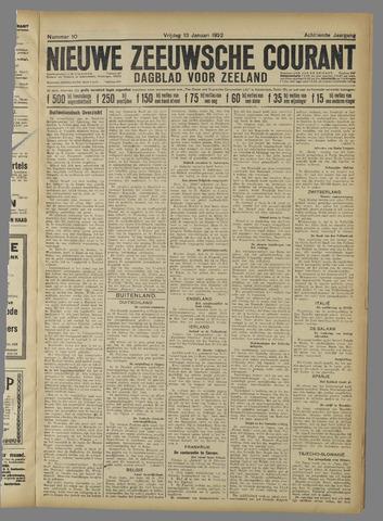 Nieuwe Zeeuwsche Courant 1922-01-13
