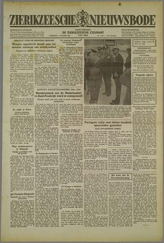 Zierikzeesche Nieuwsbode 1952-10-01