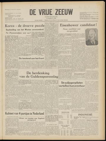 de Vrije Zeeuw 1952-07-12