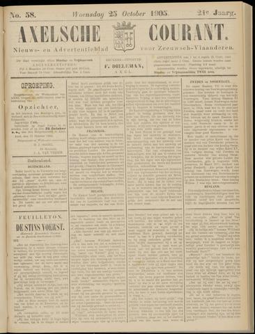 Axelsche Courant 1905-10-25