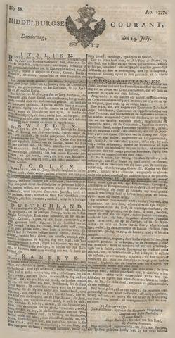 Middelburgsche Courant 1777-07-24