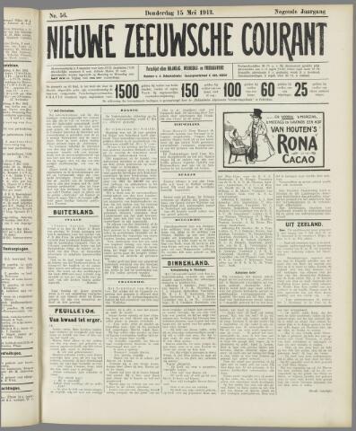 Nieuwe Zeeuwsche Courant 1913-05-15