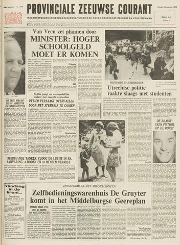 Provinciale Zeeuwse Courant 1972-08-22