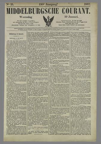 Middelburgsche Courant 1887-01-19