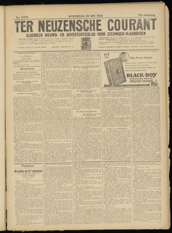 Ter Neuzensche Courant. Algemeen Nieuws- en Advertentieblad voor Zeeuwsch-Vlaanderen / Neuzensche Courant ... (idem) / (Algemeen) nieuws en advertentieblad voor Zeeuwsch-Vlaanderen 1935-05-29