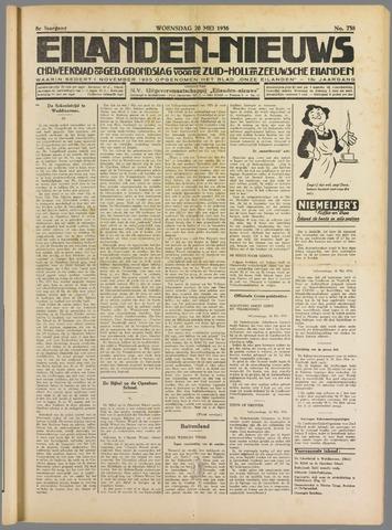 Eilanden-nieuws. Christelijk streekblad op gereformeerde grondslag 1936-05-20