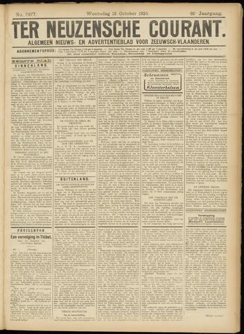 Ter Neuzensche Courant. Algemeen Nieuws- en Advertentieblad voor Zeeuwsch-Vlaanderen / Neuzensche Courant ... (idem) / (Algemeen) nieuws en advertentieblad voor Zeeuwsch-Vlaanderen 1926-10-13