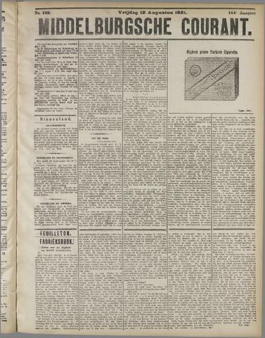 Middelburgsche Courant 1921-08-12