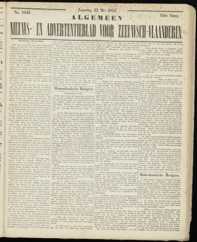 Ter Neuzensche Courant. Algemeen Nieuws- en Advertentieblad voor Zeeuwsch-Vlaanderen / Neuzensche Courant ... (idem) / (Algemeen) nieuws en advertentieblad voor Zeeuwsch-Vlaanderen 1875-05-22