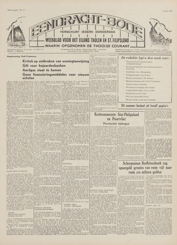Eendrachtbode (1945-heden)/Mededeelingenblad voor het eiland Tholen (1944/45) 1969-03-06