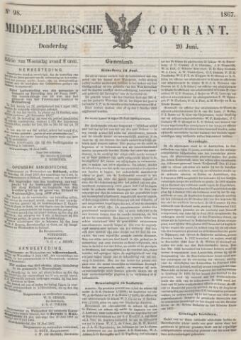 Middelburgsche Courant 1867-06-20
