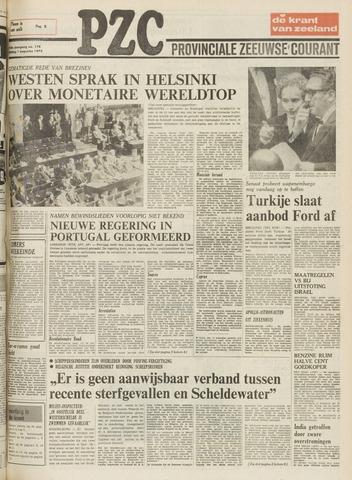 Provinciale Zeeuwse Courant 1975-08-01